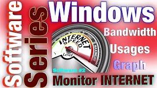 Monitor your Internet Bandwidth Usage   Must Have Software   Free!!! #internetspeedmeter