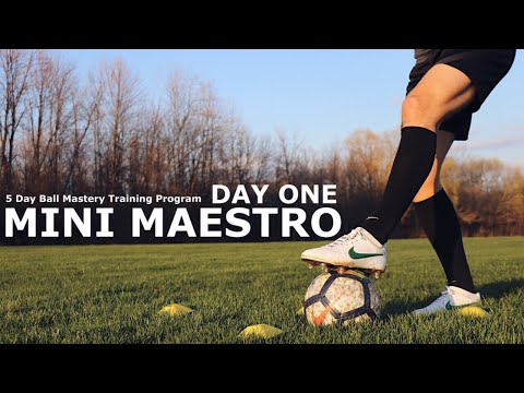 mini-maestro-day-one-|-5-day-ball-mastery-training-program-|-master-the-ball-with-these-exercises
