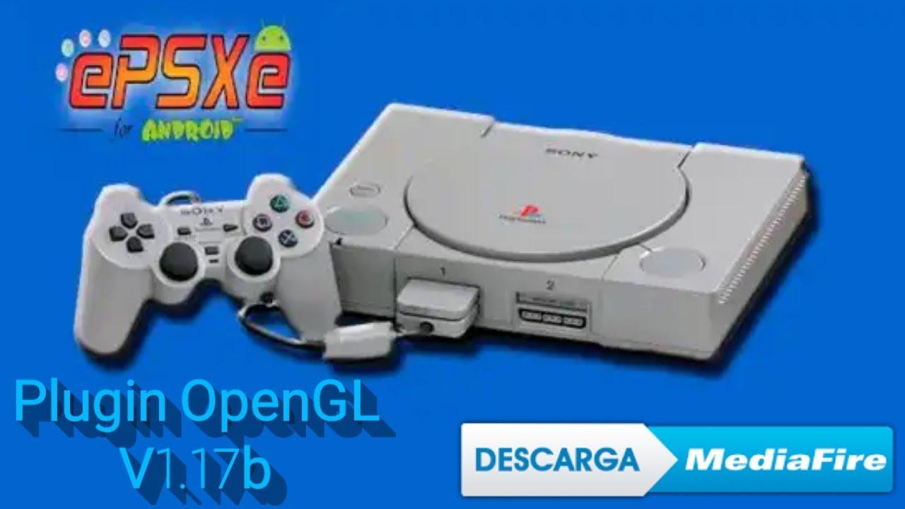 ePSXe openGL Plugin_v1 17b (Link por Mediafire en la descripción)