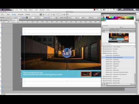 Adobe Muse CC Tips - Using MuseThemes Widget Files