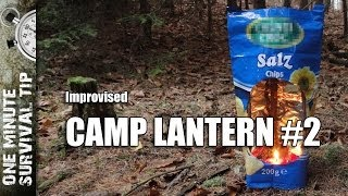 Camp Lantern 2 - one minute survival tip