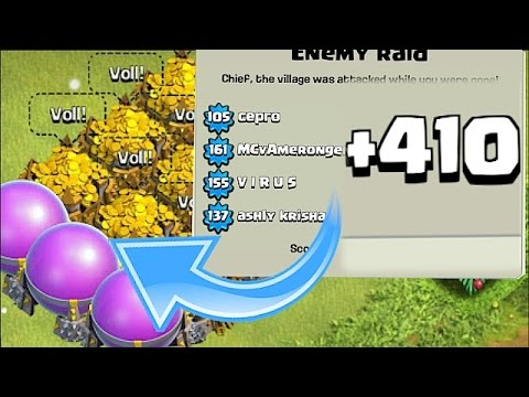 Thumbnail: MOST WINS EVER!! | NOOB TRAP BASE | Clash Of Clans
