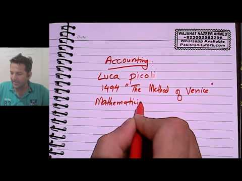 Accounting Introduction Lesson 1 in Hindi or Urdu for Pakistanis and Indians