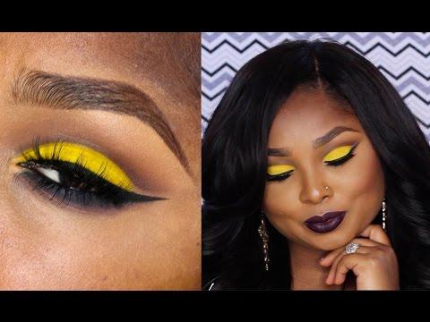 Dramatic Summer inspired Makeup tutorial