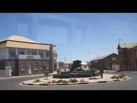Fahrt durch Lüderitz 2