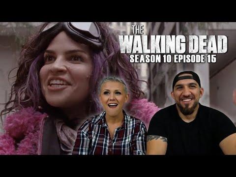 The Walking Dead Season 10 Episode 15 'The Tower' REACTION!!
