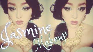 Disney princess jasmine makeup♡ジャスミン