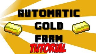 Automatic Gold Farm Tutorial 1.10 READY - Minecraft (SMP Friendly)