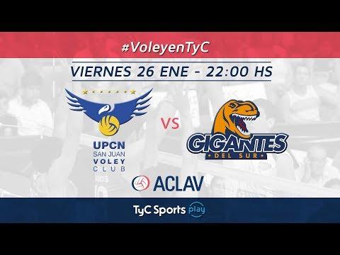 Liga Argentina: UPCN vs. Gigantes del Sur l #VoleyEnTyCSports