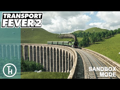 Glenfinnan Viaduct (From Harry Potter) - Transport Fever 2 - The Big Build Sandbox |