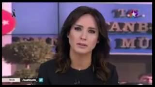 Star tv ana haber sunucusu Nazlı Çelik 38 Şehit, Milyonlar Yaralı...