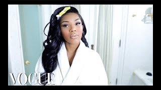 Aaliyah Jays Everyday Makeup Ritual | VOGUE INSPIRED