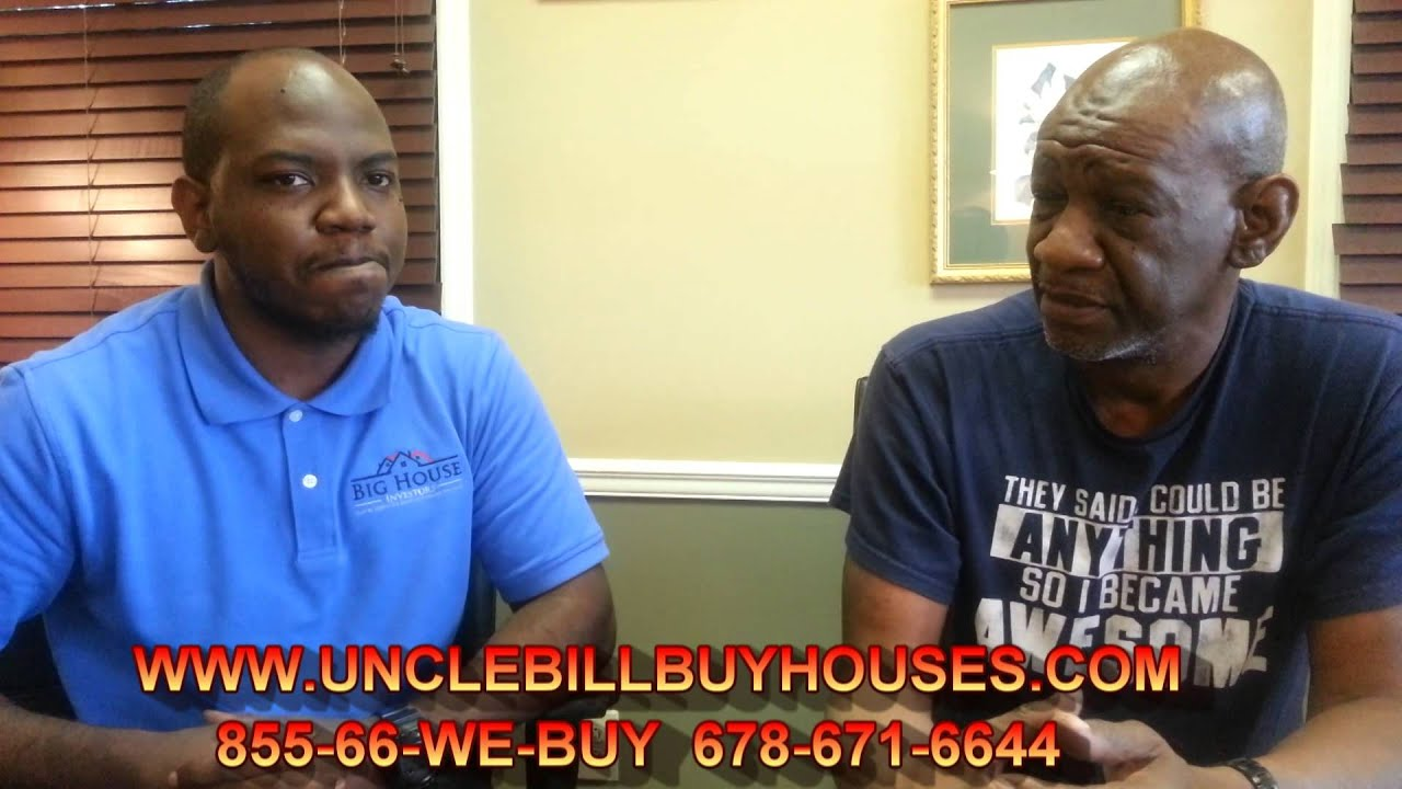 Sell Your House Fast Jonesboro GA / We Buy Houses Jonesboro / Uncle Bill Buy Houses