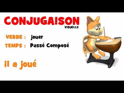 Conjugaison Jouer Passe Compose Youtube