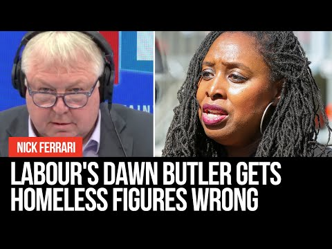 Labour's Dawn Butler Gets Homeless Figures Hopelessly Wrong In Remarkable LBC Interview