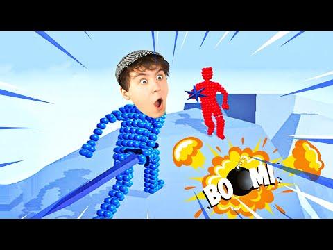 WER ZUERST TRIFFT GEWINNT?! - Angle Fight 3D