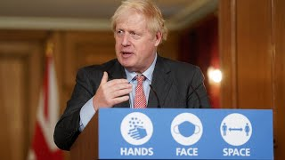 video: Boris Johnson says 'we won't throw in the sponge' amid 'clear local peaks'