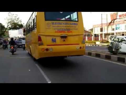 DELHI PUBLIC SCHOOL BUS IN VIJAYAWADA