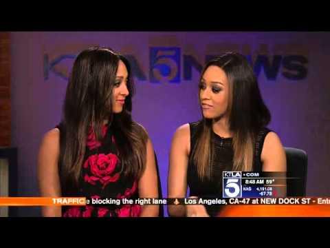 Tia and Tamera on KTLA
