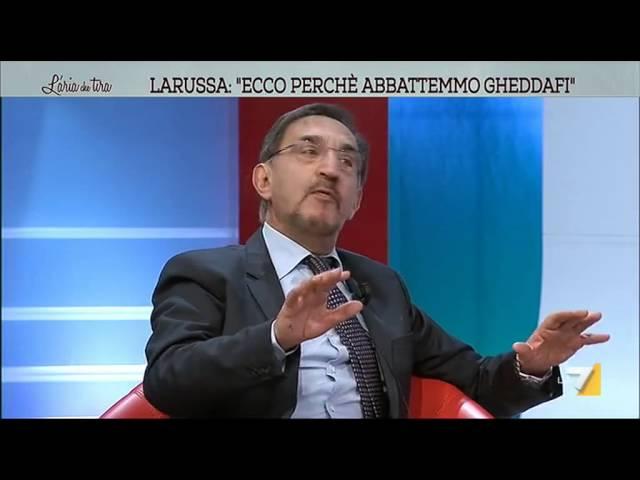 La Russa: 'Quella notte all'Opera quando decidemmo guerra in Libia'