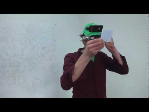 Spatial point & click experiment for AR headsets