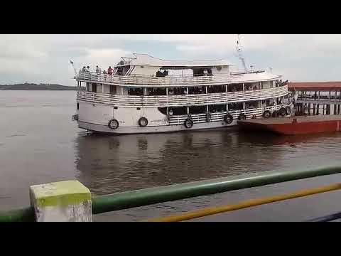 Barco são Bartolomeu 1 saindo de Itaituba PA