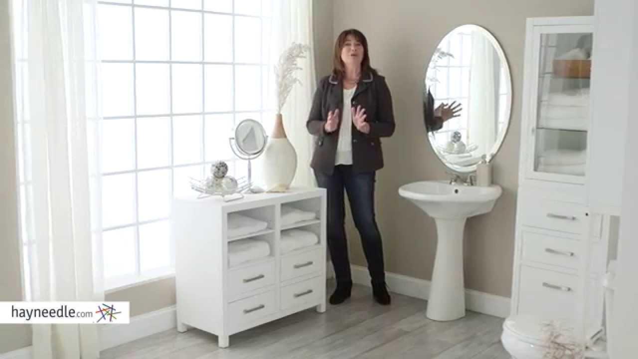 Belham Living Longbourn Bathroom Floor Cabinet Product Review Video