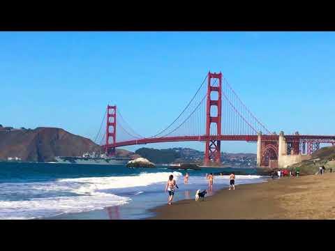 Aircraft Carrier under the Golden Gate Bridge
