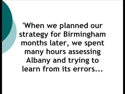 The Albany Movement 1961-62