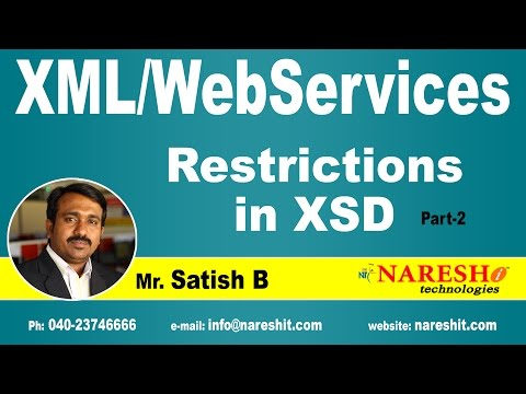 Restrictions in XSD - Part 2 | XML Tutorial | Satish B