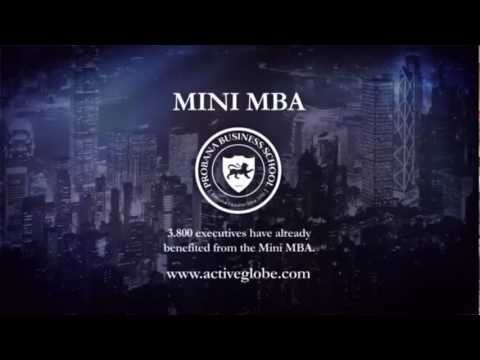PROBANA Business School - Mini MBA - YouTube