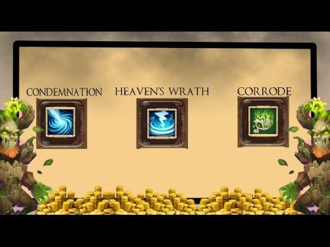 Castle Clash Condemnation, Heavens Wrath, Corrode