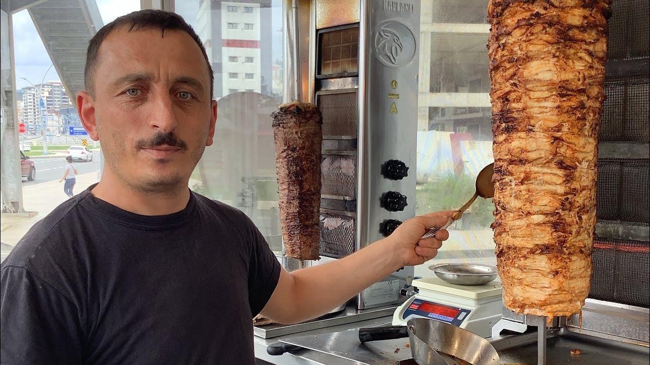 Saray haşlama döner | Turkish food | Street food in turkey