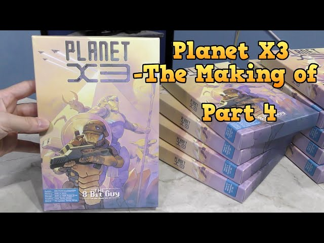 Planet X3 -The Making of, Part 4