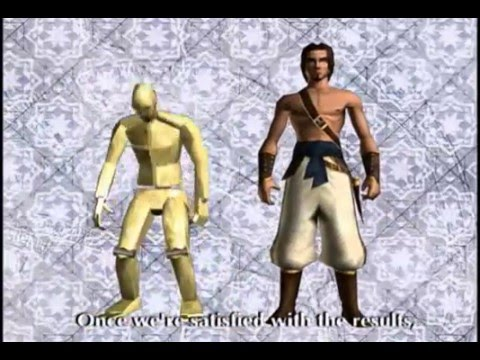The Making Of Prince Of Persia The Sands Of Time Youtube