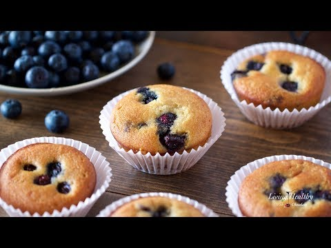 Blueberry Muffin Recipe (Paleo, gluten-free, low-carb)