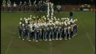 Part 3 - Halftime Show - Intro AI Dupont HS Marching Band 2007 Seni...