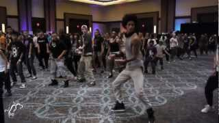 Les Twins Workshop - Larry| Hip Hop International Urban Moves 2012| Step x Step Dance