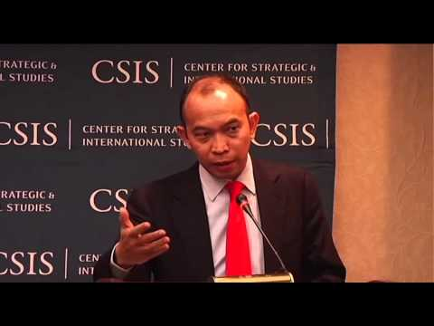 The CSIS Indonesia Initiative featuring Dr. Muhamad Chatib Basri
