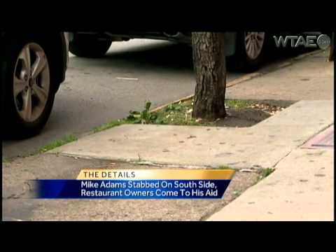 Restaurant owner helps Steelers' Mike Adams after stabbing