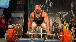 Mikhail Koklyaev Deadlift On Gpa Wpc 2014 (390+, 410+, 422,5-)