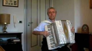La Foule - Edith Piaf - Accordion solo Accordeon Acordeon Akkordeon Akordeon