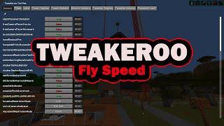 Tweakeroo Fly Speed - Minecraft faster creative flying (and freecam) screenshot 3