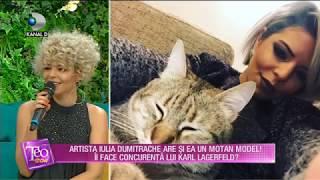 Teo Show (05.07.2018) - Iulia Dumitrache, artista cu peste 40 de premii la festivaluri! Pa ...