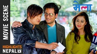Examination Scene | New Nepali Movie MELA | Salon Basnet, Amesh Bhandari, Aashishma Nakarmi