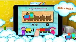 Early Learning for Toddlers and Preschoolers! Preschool EduKidsRoom by Cubic Frog® Apps!