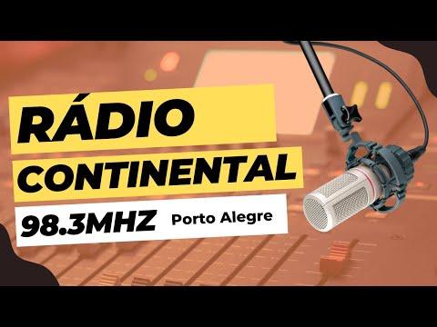 DX FM   Continental Fm Porto Alegre   Rádio TECSUN PL 880