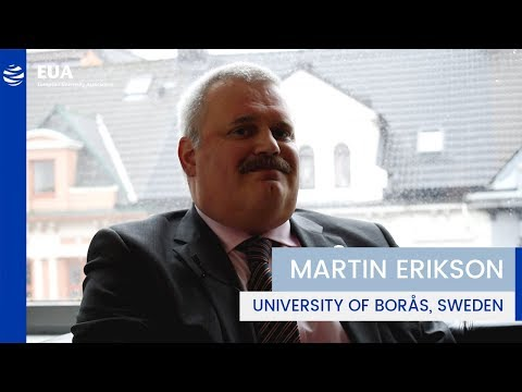 EUA Learning & Teaching Initiative – Martin Erikson, University of Borås, Sweden