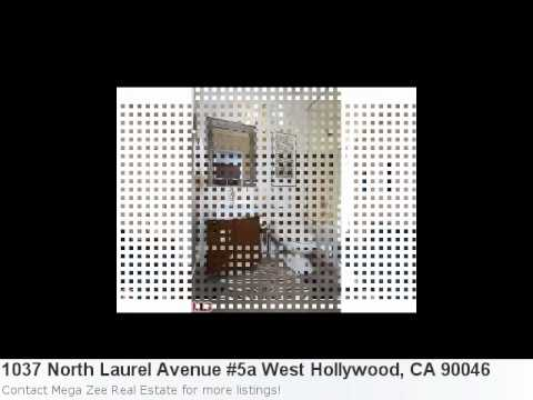 Real Estate Listing For West Hollywood, Ca- 1037 North Laure