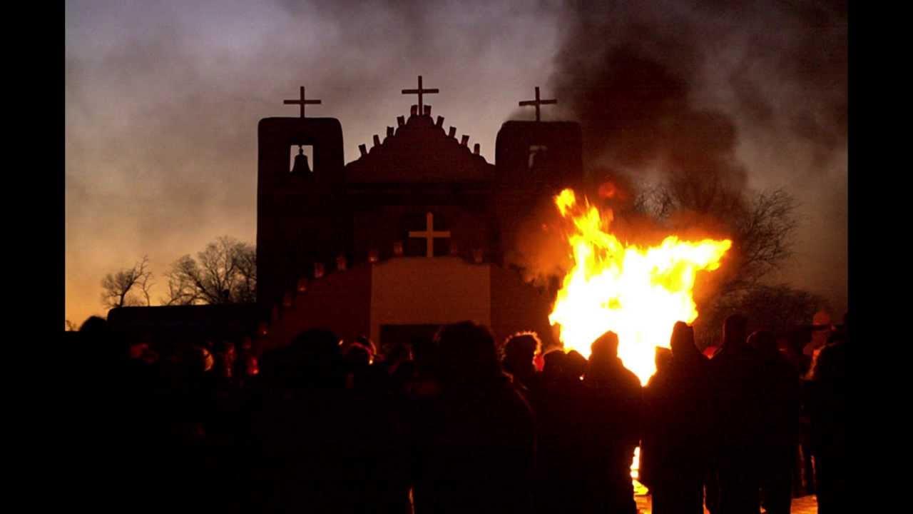 Taos Pueblo Christmas Eve Procession